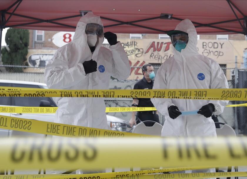 California Warns Of Virus Uptick Names Vaccine Ethics Panel The San Diego Union Tribune