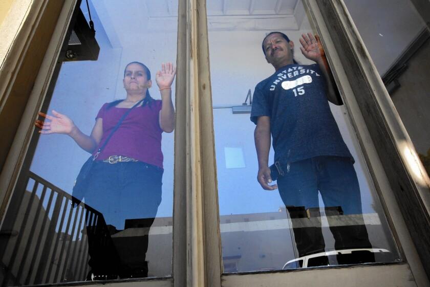 Marina Torres and Jose Luis Cazares