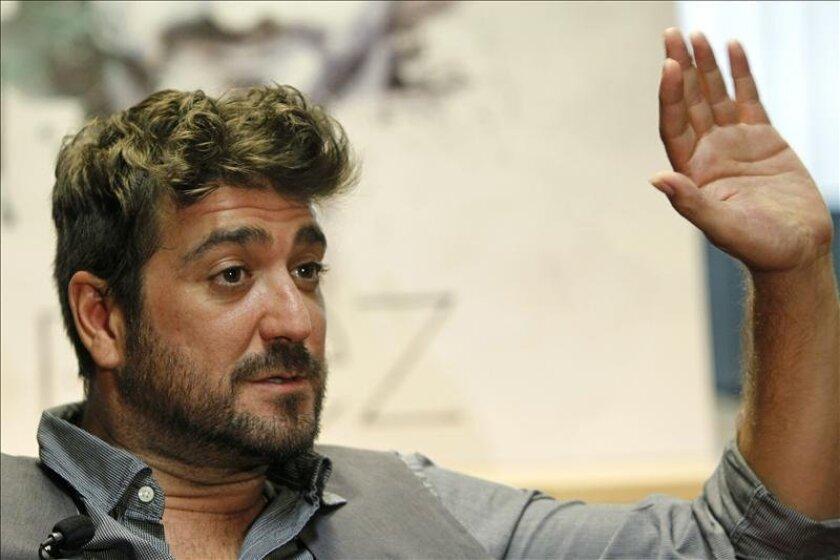 El cantante español Antonio Orozco. EFE/Archivo