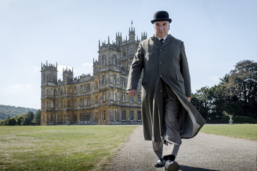 """Jim Carter in """"Downton Abbey"""" the movie."""