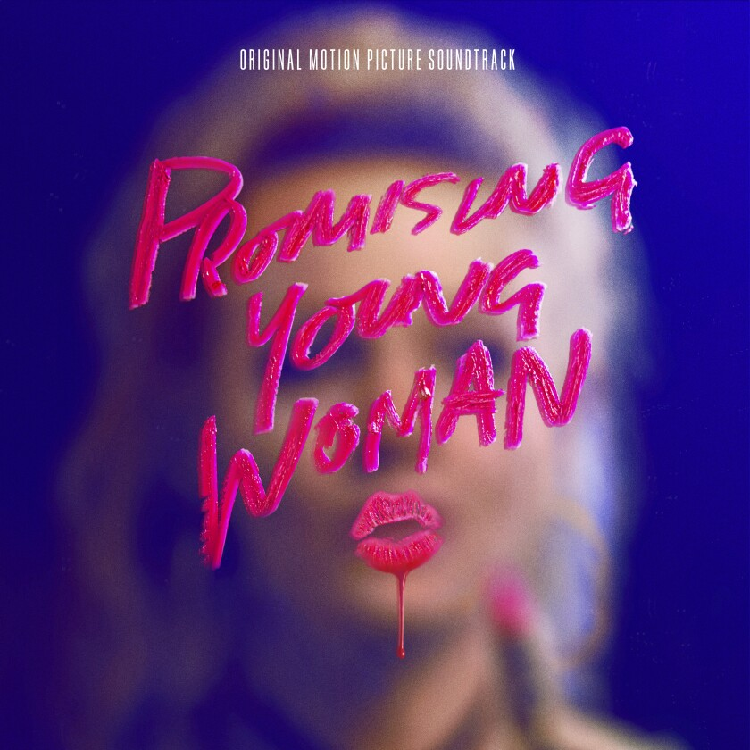 """This cover image released by Capitol Records shows """"Promising Young Woman: Original Motion Picture Soundtrack."""" (Capitol Records via AP)"""