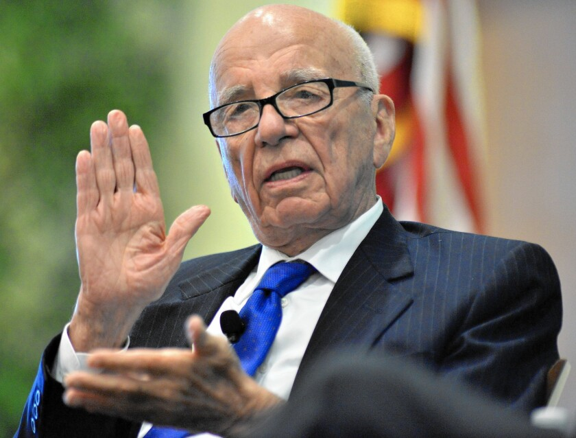 Rupert Murdoch expected to stay active at Fox