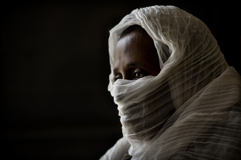 A woman who was says she was raped by Eritrean soldiers