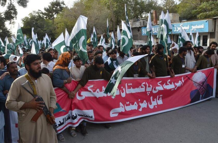 Estados Unidos confía en que Pakistán cumpla sus compromisos de lucha antiterrorista y poder levantar así la suspensión de ayuda de seguridad anunciada el pasado jueves, el mayor castigo aplicado a Islamabad desde 2001. EFE/ARCHIVO