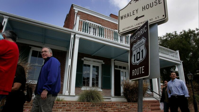 The Whaley House in Old Town.