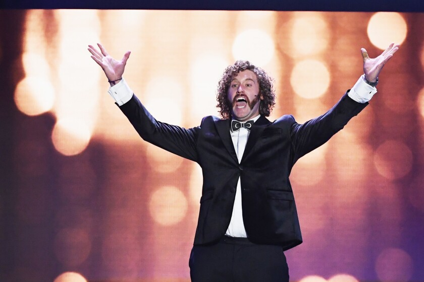 <p>T.J. Miller performs at American Comedy Co. this month.</p>
