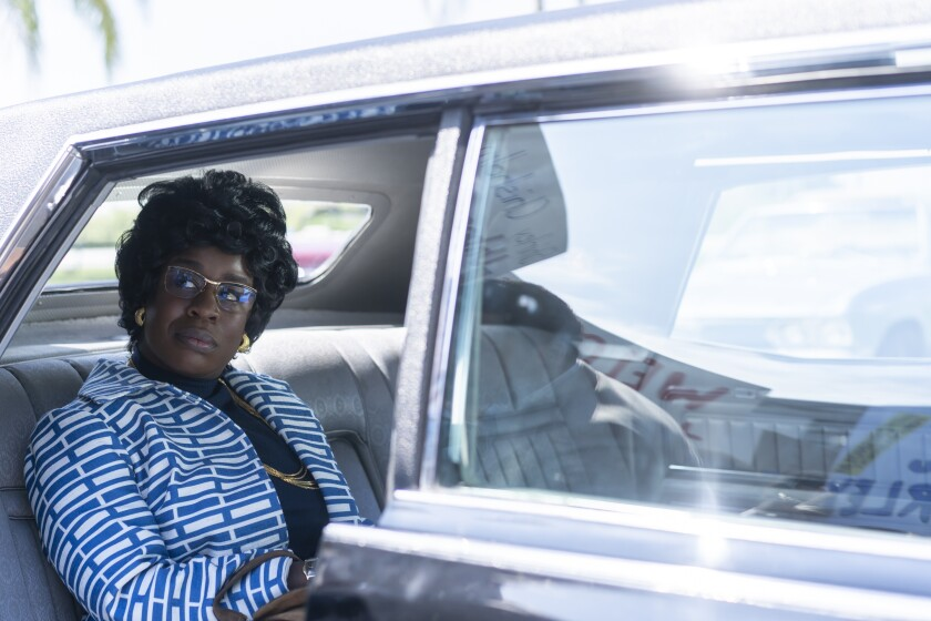 Uzo Aduba as Shirley Chisholm in