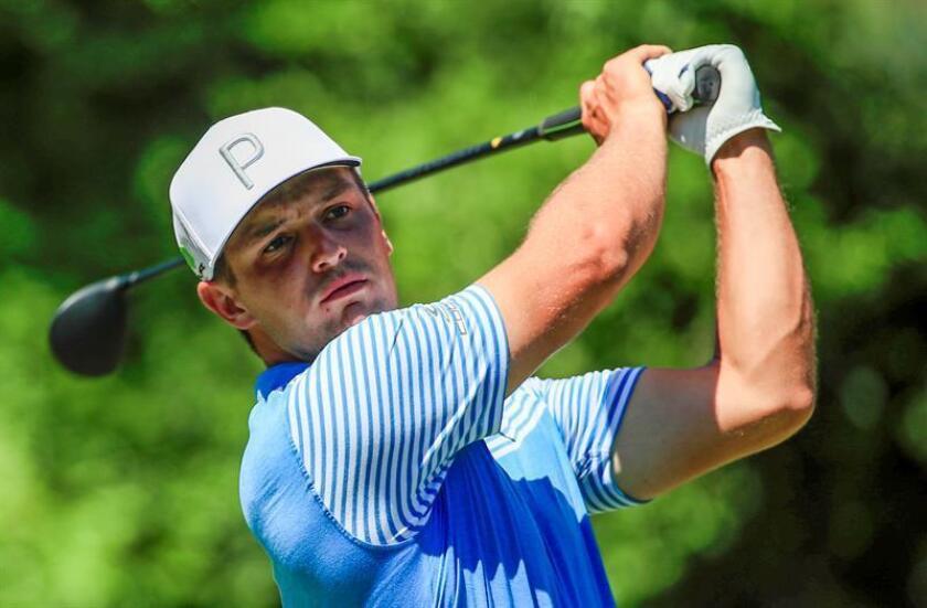 El golfista estadounidense Bryson DeChambeau. EFE/Archivo