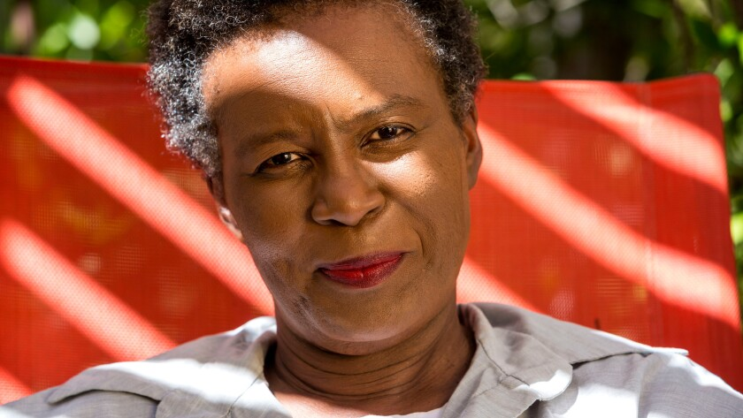 Poet Claudia Rankine at her home in 2014.
