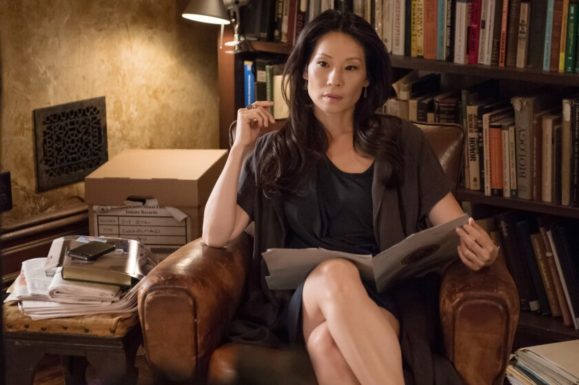 """Lucy Liu, costar of """"Elementary,"""" says she wakes early to meditate."""