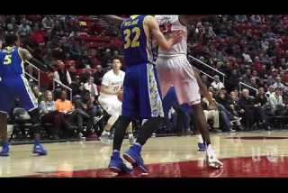 Aztecs rout San Jose State with dominant second half