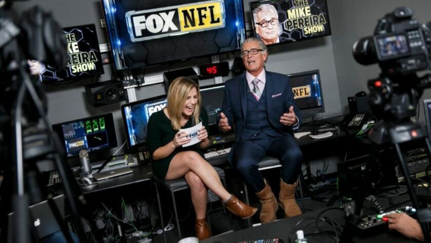 Former NFL head of officiating Mike Pereira still has the coolest job in the league