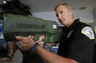 Oceanside gets county's first 'drone killer'