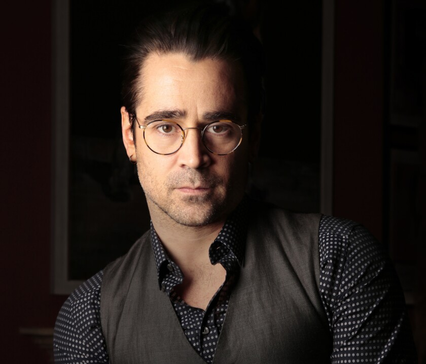 A trust tied to Colin Farrell, pictured, and his former partner, actress Alicja Bachleda-Curuś, bought the property in 2010 for $1.2 million, public records show.