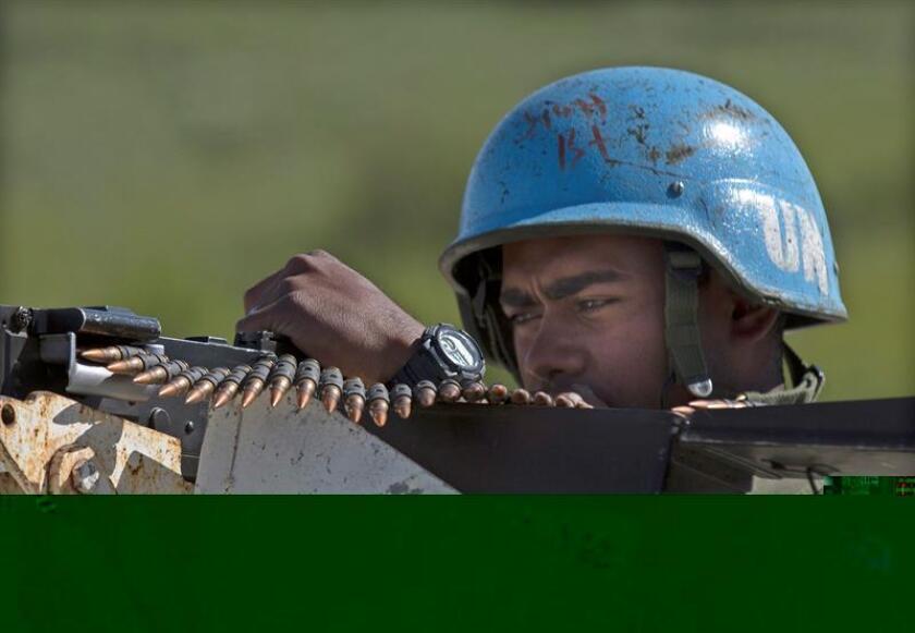 """Naciones Unidas anunció hoy que ha identificado a 41 """"cascos azules"""" de Burundi y Gabón que supuestamente cometieron abusos sexuales durante su despliegue en la República Centroafricana entre 2014 y 2015. EFE/ARCHIVO"""