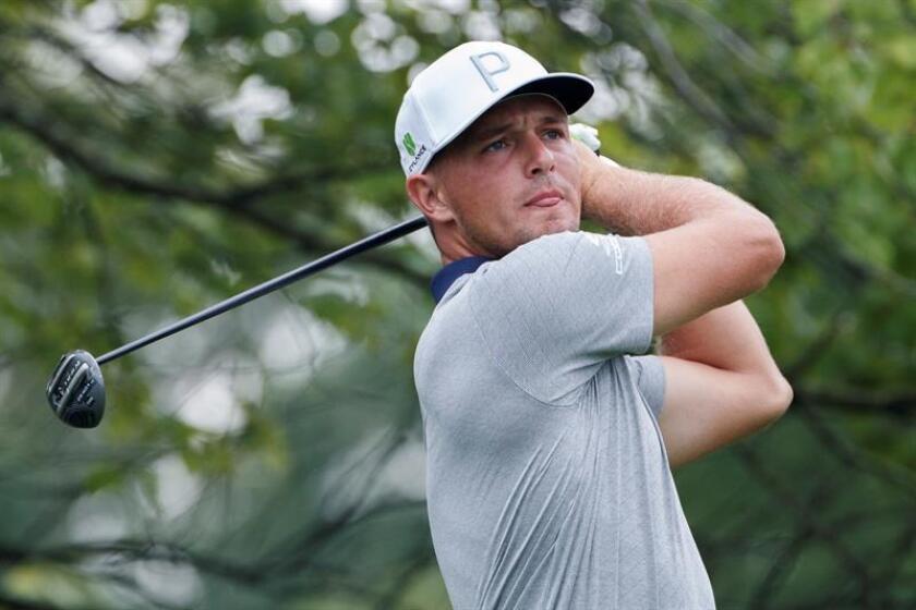 En la imagen, el golfista estadounidense Bryson DeChambeau. EFE/Archivo