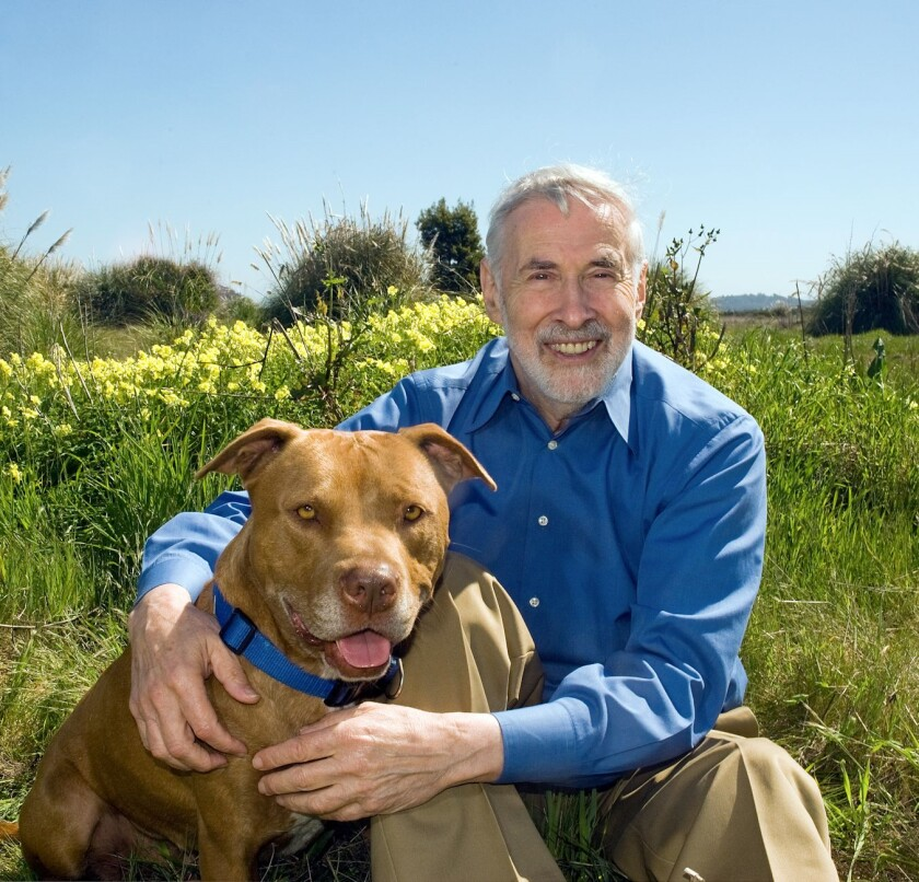 Elliot Katz and his dog Charlie