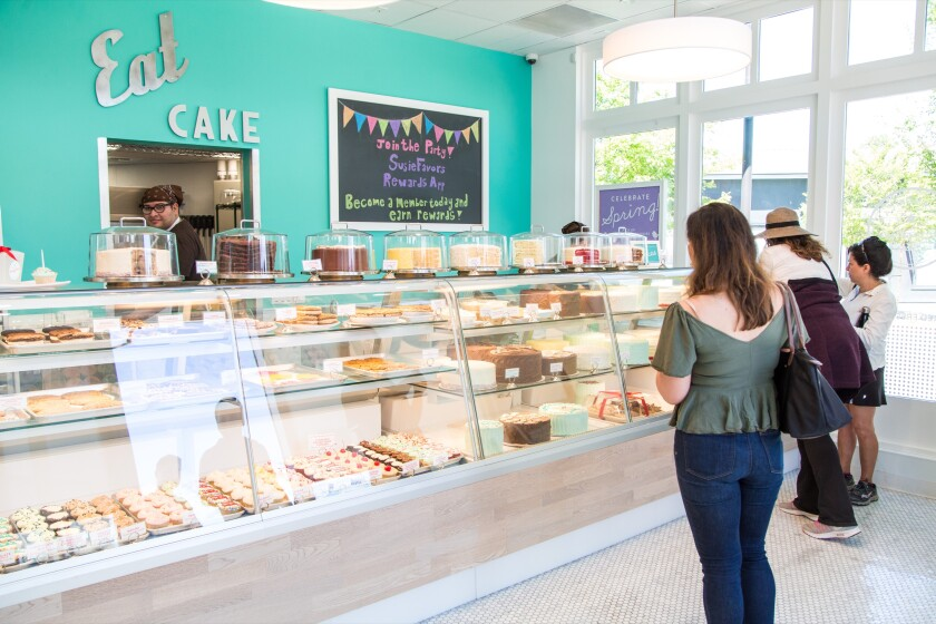 SusieCakes, at One Paseo, is the retro bakery of our dreams.