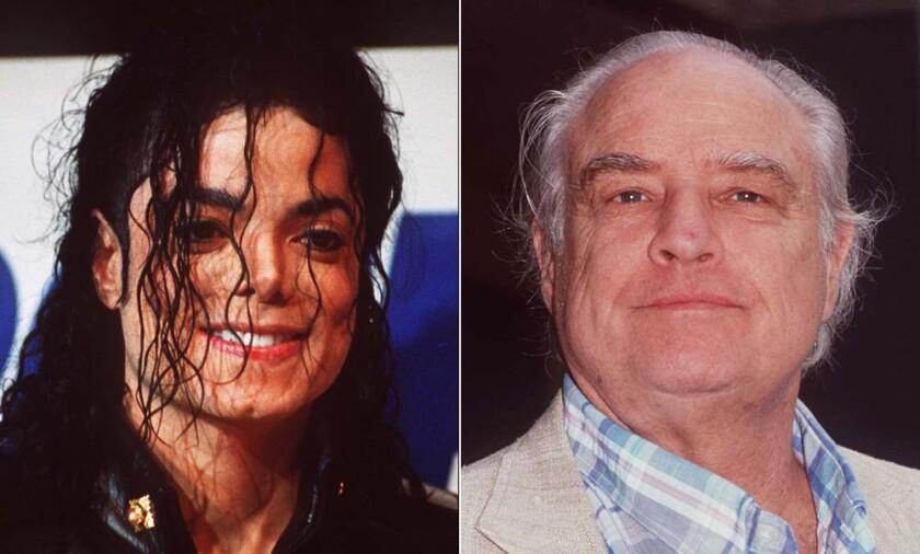 Michael Jackson and Marlon Brando