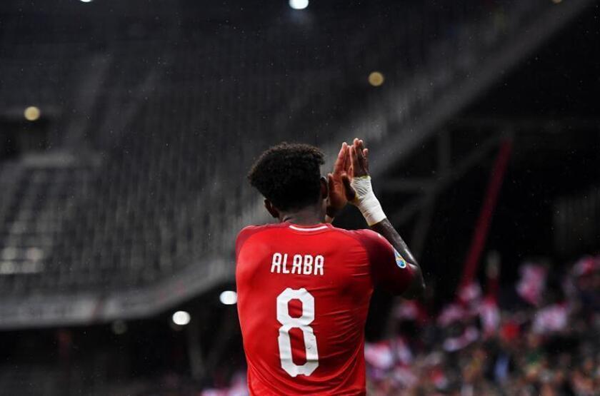Alaba baja del Bayern ante el Estrella Roja por lesión muscular