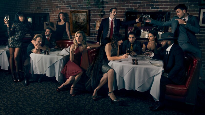 """The cast of """"For The Record: Scorsese — American Crime Requiem."""""""