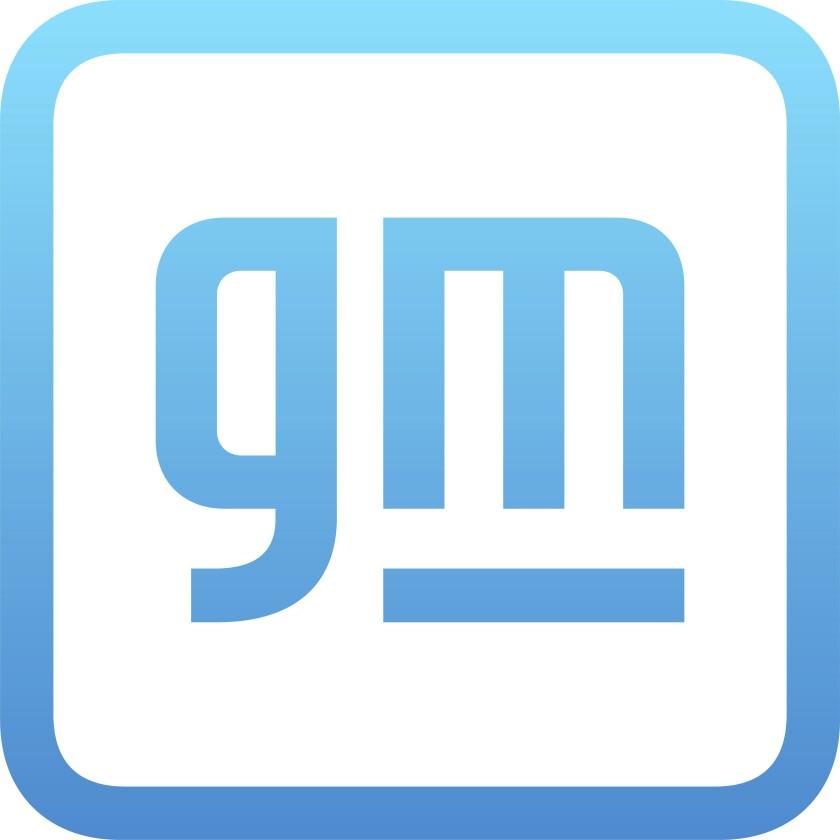 El logo de General Motors.