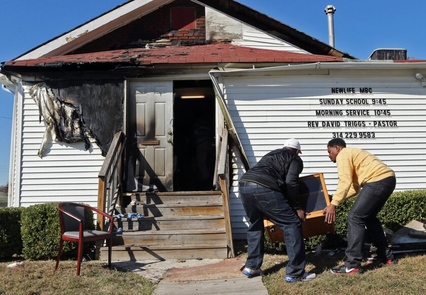 Arson at New Life Missionary Baptist Church in St. Louis