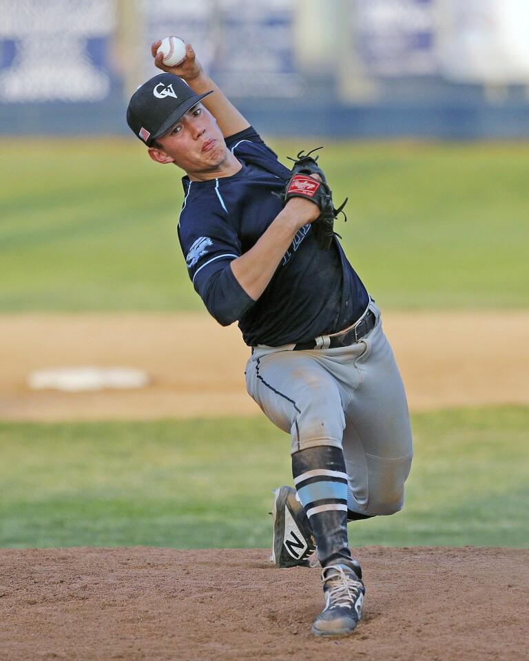 Photo Gallery: Crescenta Valley vs. Burbank in Pacific League baseball