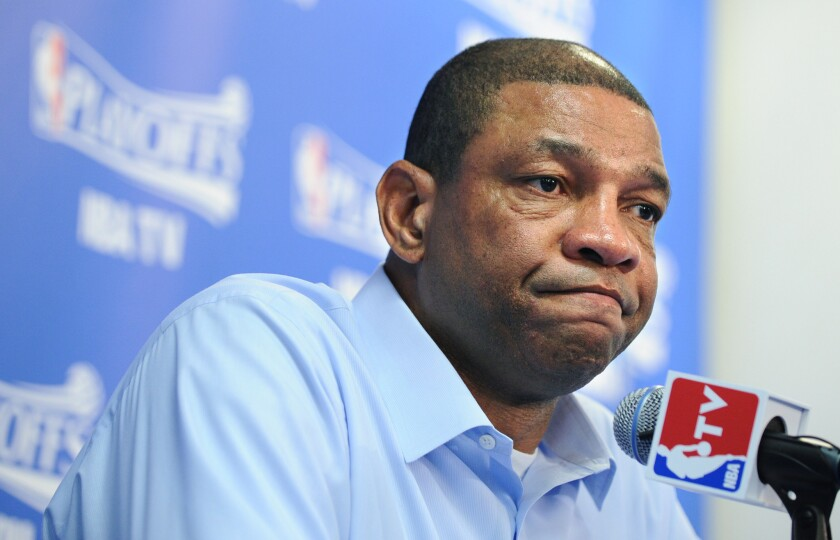 """""""We're going home now, and usually that would mean we're going to our safe haven, and I don't even know if that's true, to be honest,"""" Clippers Coach Doc Rivers said."""