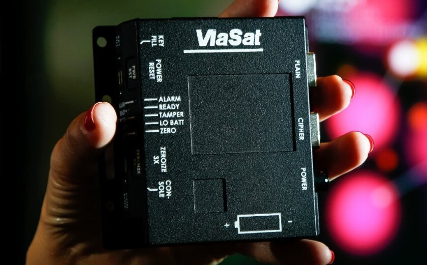 A ViaSat tactical encryption unit, which scrambles data for government communications in the field.