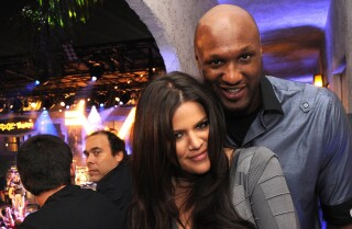 Khloe Kardashian's with Lamar Odom after he was found unconscious at Las Vegas-area brothel