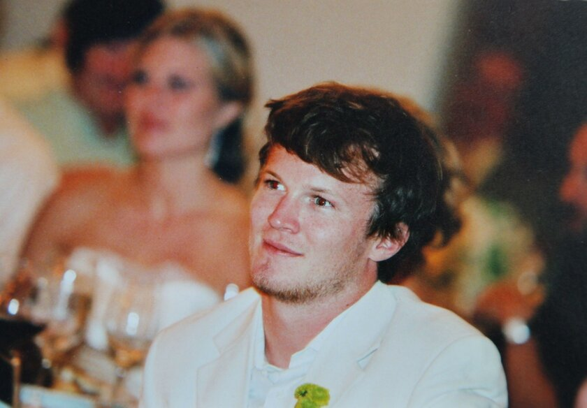 Casey Gauntt started The Fraternity support group with two other fathers after the death of his son, Jimmy Gauntt, pictured.