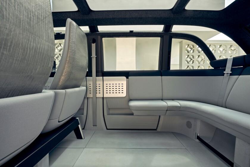 Canoo electric vehicle
