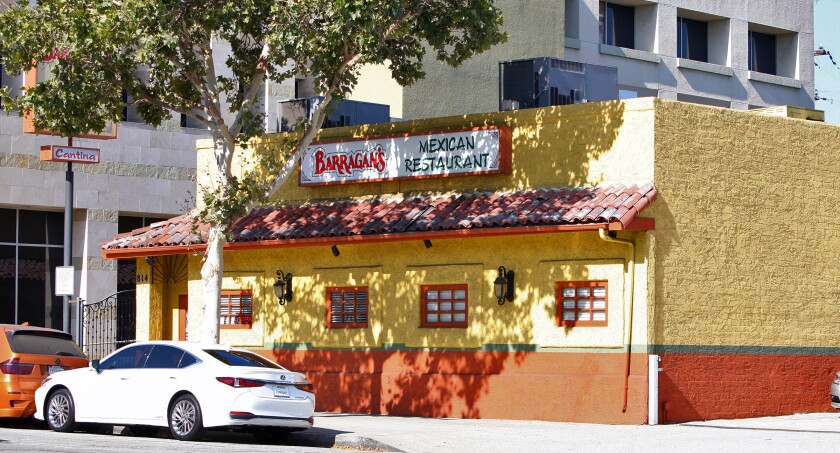 Mexican eatery Barragan's to shutter Glendale location after
