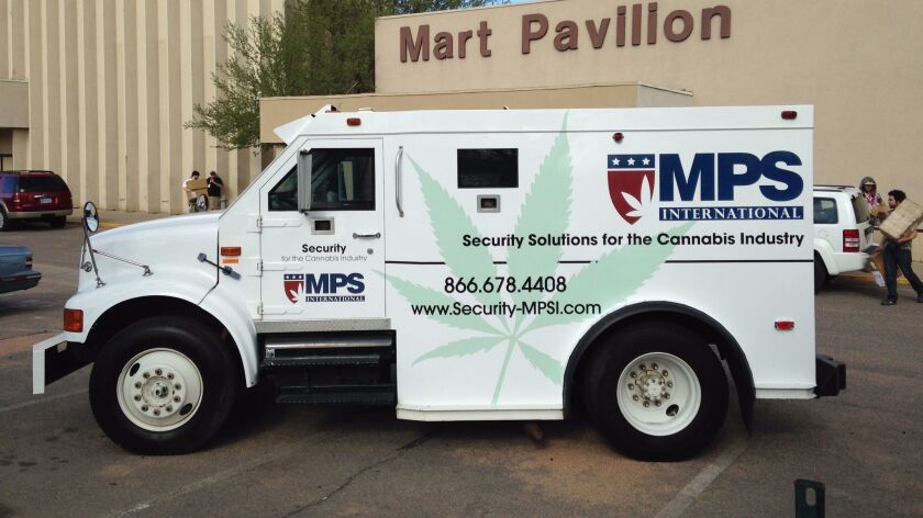 MPS Security in Murrieta has armored cars for marijuana cash transport.