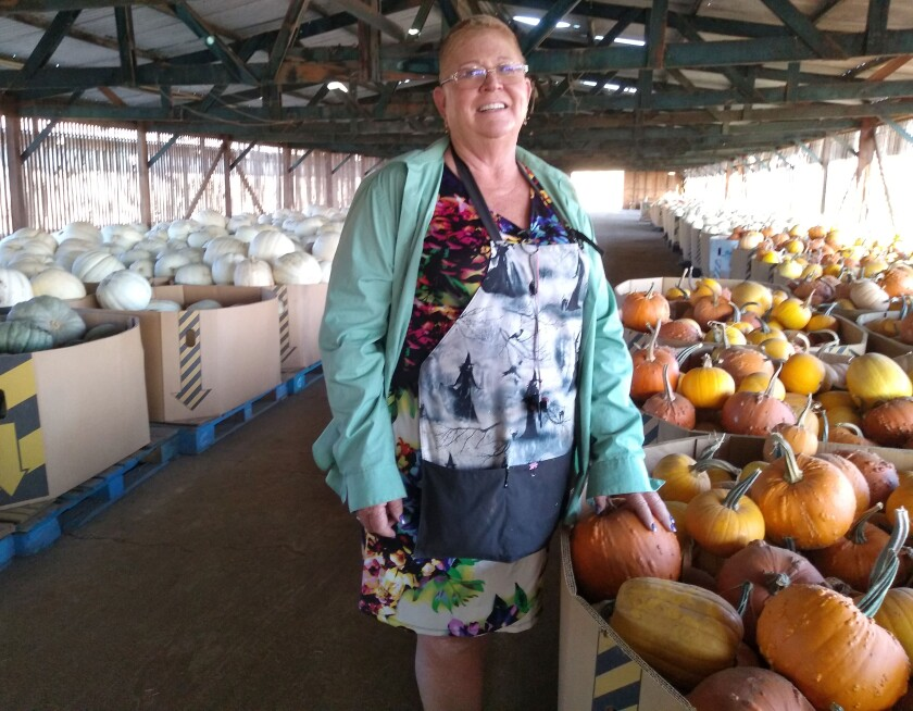 Karen Dowle and her family have raised chickens and sold fruit along with running their California Farm Life pumpkin patch.