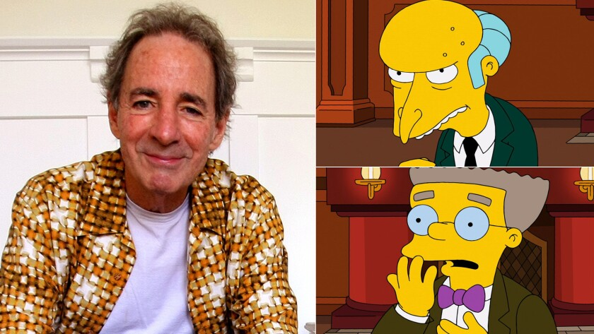 "Harry Shearer got a quick response when he went on Twitter saying his ""Simpsons"" role was over."