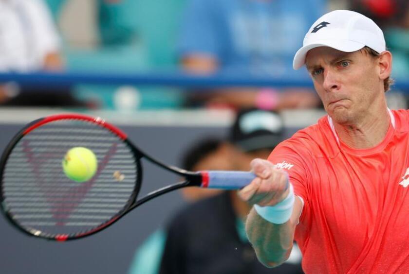 El tenista sudafricano Kevin Anderson. EFE/Archivo