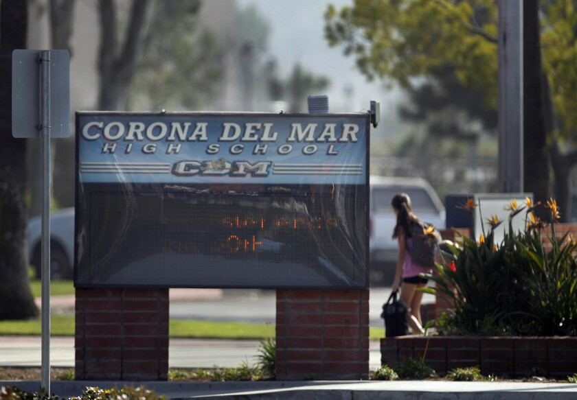 The cheating scandal at Corona del Mar High School stunned the community.