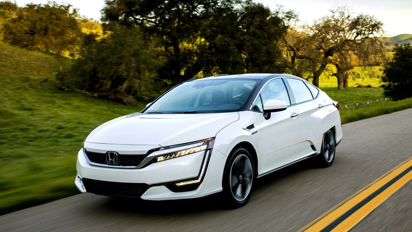 Honda has finally come to market with its long-awaited Clarity hydrogen fuel cell vehicle. The sporty four-door, five-seat sedan was worth the wait.