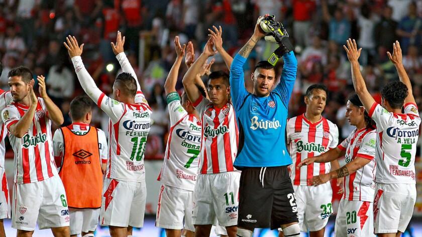 El Necaxa está de regreso en la Primera División del futbol mexicano.