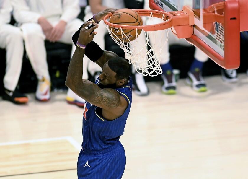 Team LeBron wins All-Star game on Anthony Davis free throw