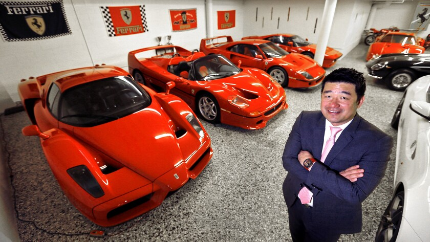 Touring the private Ferrari collection of David Lee