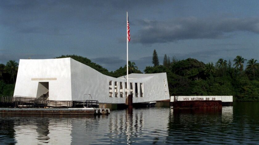 Cracks on the outside of the USS Arizona Memorial were first noticed on May 6.