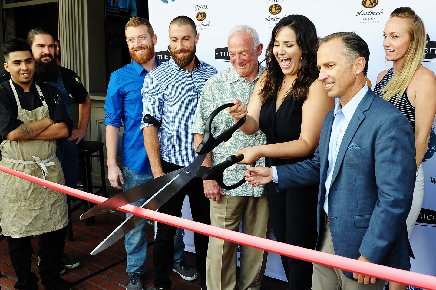 Grand Opening of Sign of the Whale San Diego