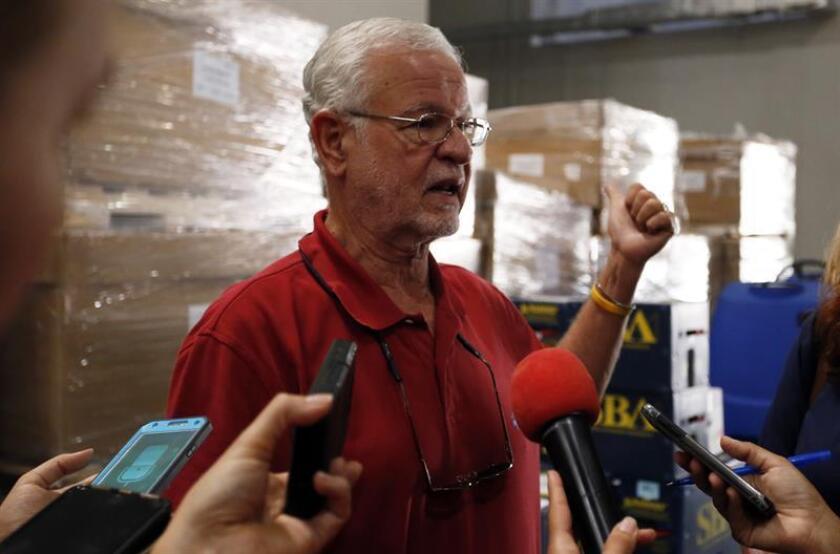 """Todos queremos unas fiestas y un nuevo año sin violencia"""", dijo en el acto de presentación el secretario del DSP, Héctor Pesquera. EFE/Archivo"""