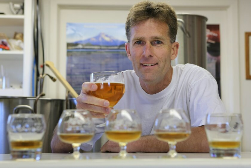 Andy Gamelin, homebrewer and engineer.