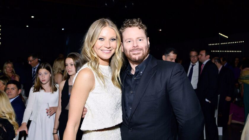 CULVER CITY, CA - MAY 06: Honorees Gwyneth Paltrow and Sean Parker attend UCLA Mattel Children's Ho