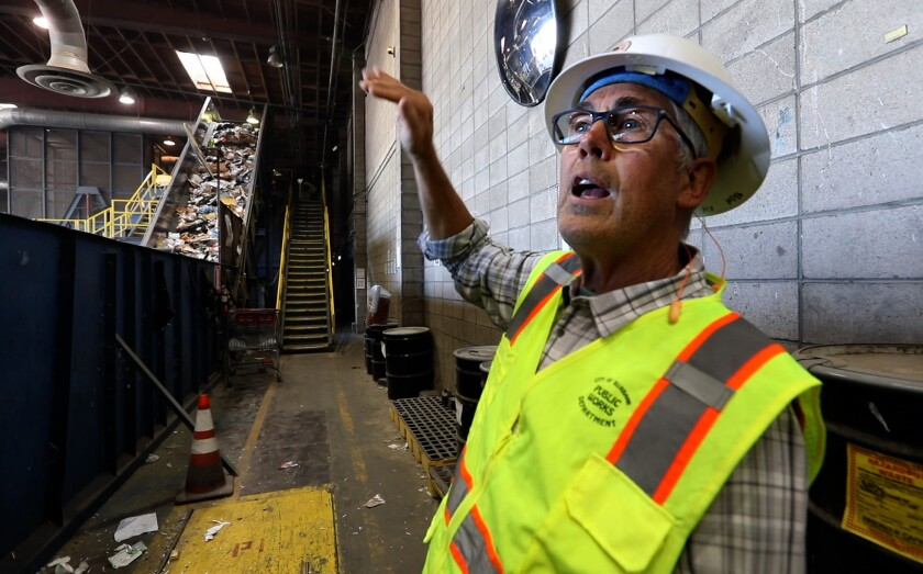 Burbank Recycling Center >> As California Recycling Centers Close Reformers Target