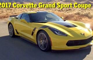 2017 Corvette Grand Sport Coupe